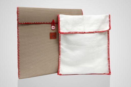 To χρώμα της πλεκτής μπορντούραςστις θήκες ενδέχεται να διαφέρεια ανάλογα με το χρώμα της τσάντας