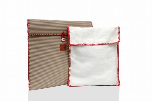 Το χρώμα της πλεκτής μπορντούρας στις θήκες  ενδέχεται να διαφέρουν ανάλογα με τη τσάντα
